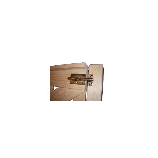 gartentor-Holz-Zauntor-Zauntur-Hoftor-Hoftur-Gartentur-Tur Variant 5 // 90x115cm