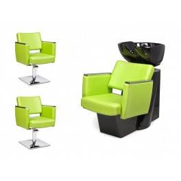 MODEL CASTANTO 2*CHAIR + 1* WASH UNIT