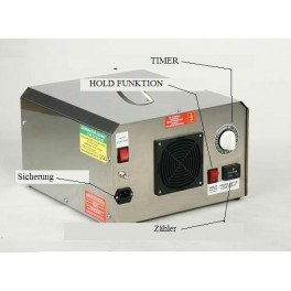 Oznongerät für Wasser und Luft 3,5g, 7g 15g oder 25g/h